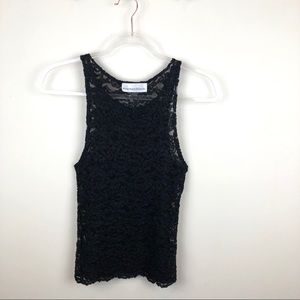 Vintage Martha's Vineyard Designs LTD Black Lace M